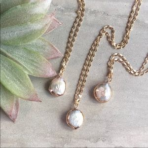 Boho 🌸freshwater🌸 baroque 🌟pearl 🌟necklace 🌟✨